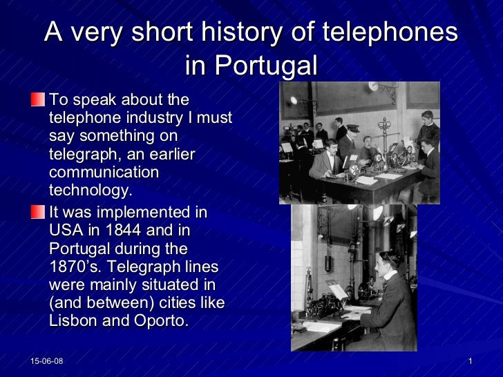 A Very Short History Of Telephones In Portugal (2)