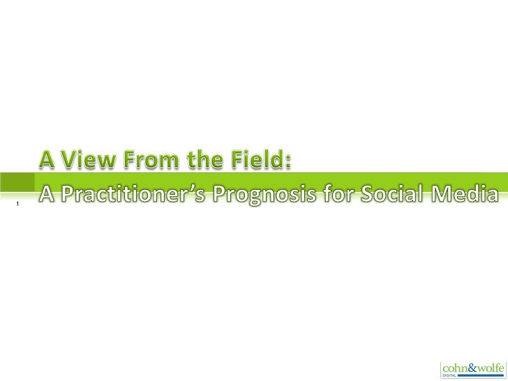 A View From The Field 12 2 08 Slideshare