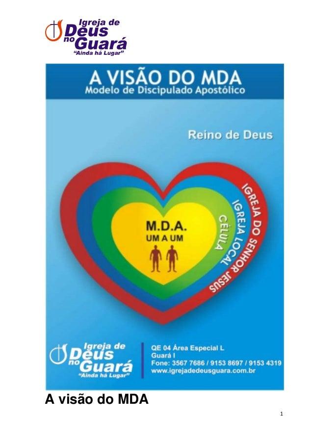 A visão do MDA 1