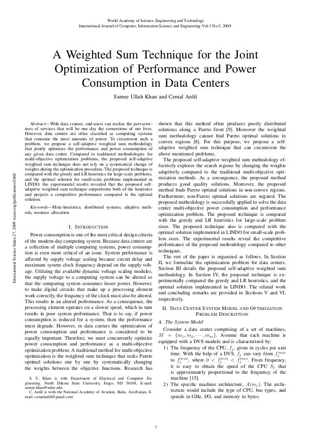World Academy of Science, Engineering and Technology International Journal of Computer, Information Science and Engineerin...