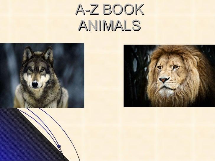 A-Z BOOK ANIMALS