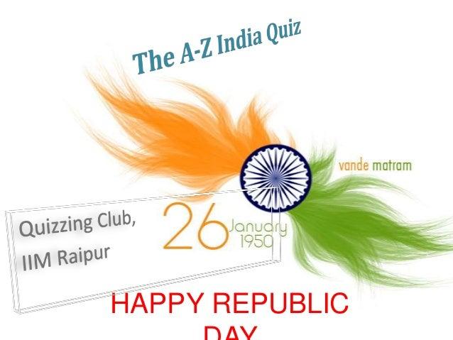 HAPPY REPUBLIC