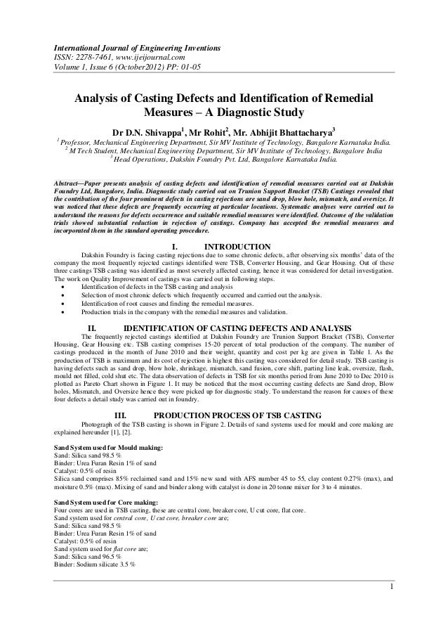 International Journal of Engineering InventionsISSN: 2278-7461, www.ijeijournal.comVolume 1, Issue 6 (October2012) PP: 01-...