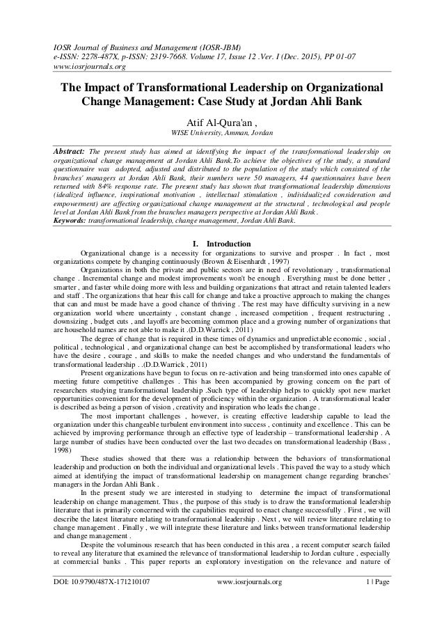 an analysis of organisational change The analysis of organizational culture and structure as a basis for the implementation of knowledge management erichhartlieb, marjanleber, josef tuppinger,and reinhardwillfort.