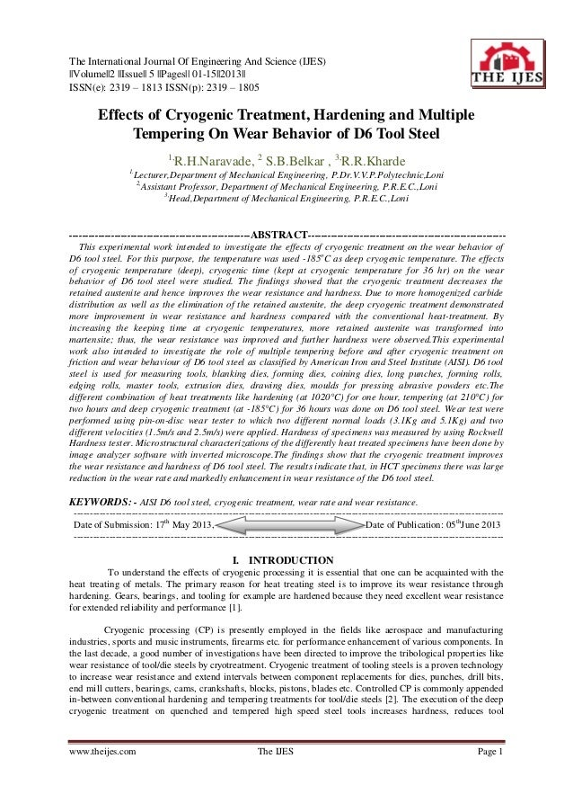 The International Journal Of Engineering And Science (IJES)||Volume||2 ||Issue|| 5 ||Pages|| 01-15||2013||ISSN(e): 2319 – ...