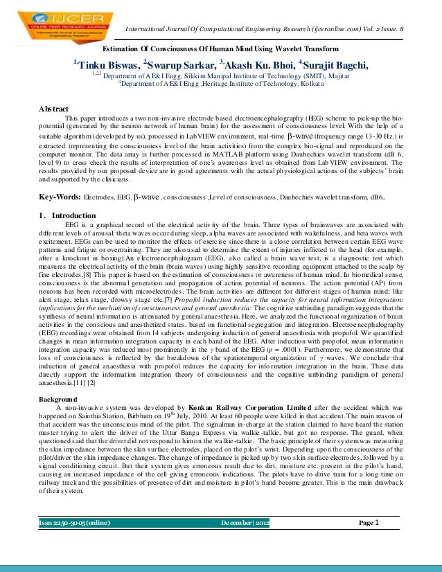 I nternational Journal Of Computational Engineering Research (ijceronline.com) Vol. 2 Issue. 8                          Es...