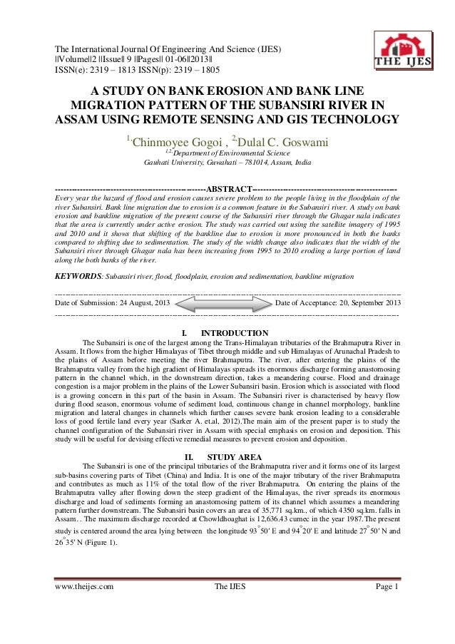 The International Journal Of Engineering And Science (IJES) ||Volume||2 ||Issue|| 9 ||Pages|| 01-06||2013|| ISSN(e): 2319 ...