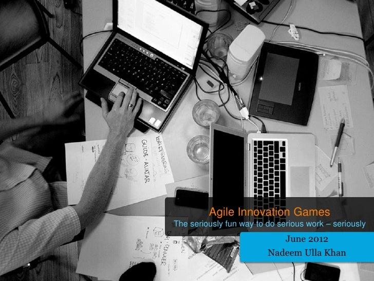 Valtech - Agile Innovation Games