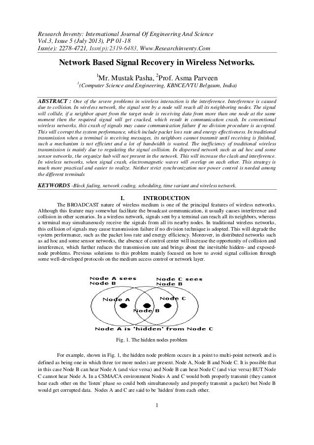 Research Inventy: International Journal Of Engineering And Science Vol.3, Issue 5 (July 2013), PP 01-18 Issn(e): 2278-4721...