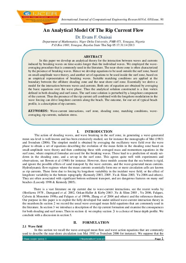 International Journal of Computational Engineering Research||Vol, 03||Issue, 9|| ||Issn 2250-3005 || ||September||2013|| P...
