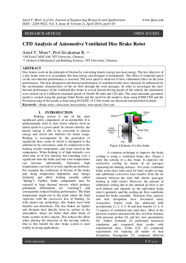 Amol V. More et al Int. Journal of Engineering Research and Applications www.ijera.com ISSN : 2248-9622, Vol. 4, Issue 4( ...