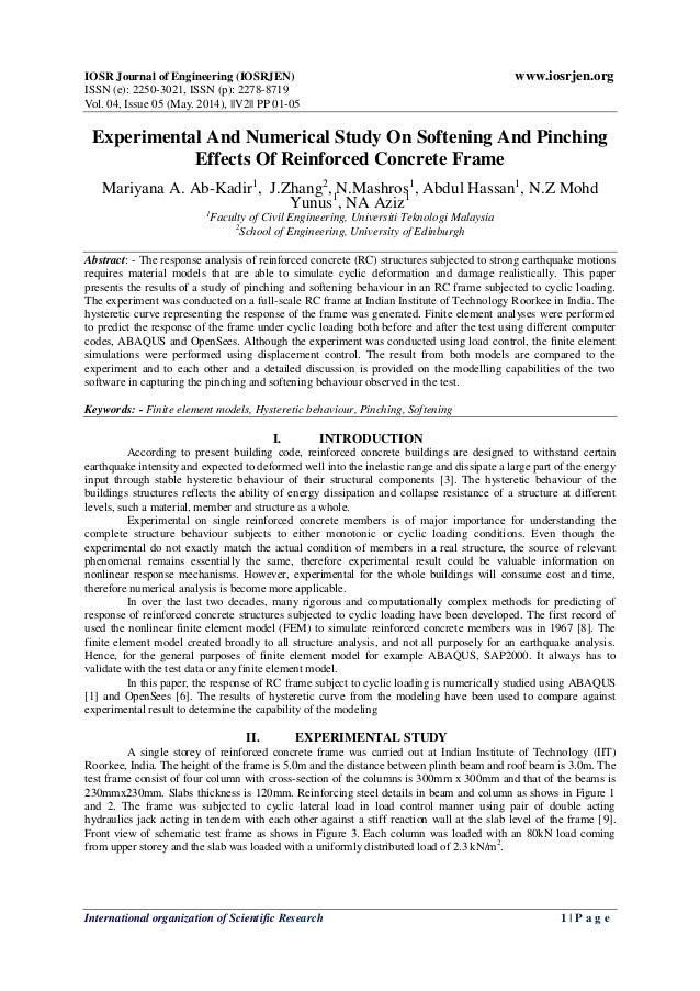 IOSR Journal of Engineering (IOSRJEN) www.iosrjen.org ISSN (e): 2250-3021, ISSN (p): 2278-8719 Vol. 04, Issue 05 (May. 201...