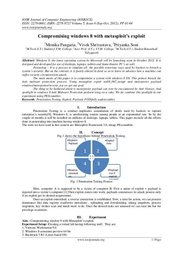 IOSR Journal of Computer Engineering (IOSRJCE) ISSN: 2278-0661, ISBN: 2278-8727 Volume 5, Issue 6 (Sep-Oct. 2012), PP 01-0...