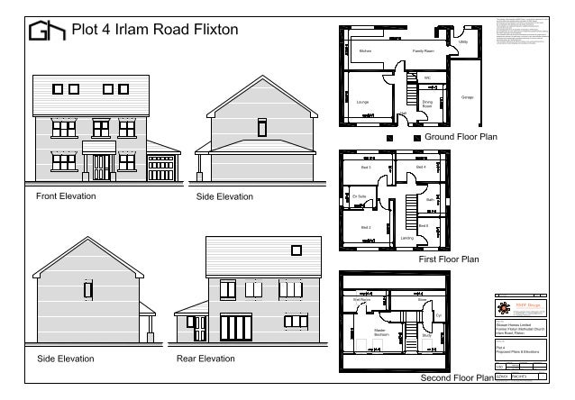 Plan Elevation En Anglais : A gzh fmc ht plans and elevations
