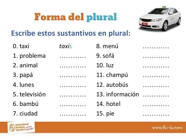 Los sustantivos en espa241ol singular y plural corregido : los sustantivos en espaol singular y plural corregido 17 638 from es.slideshare.net size 638 x 479 jpeg 61kB