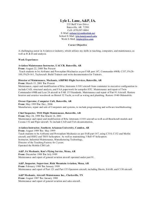 Resume title examples for entry level