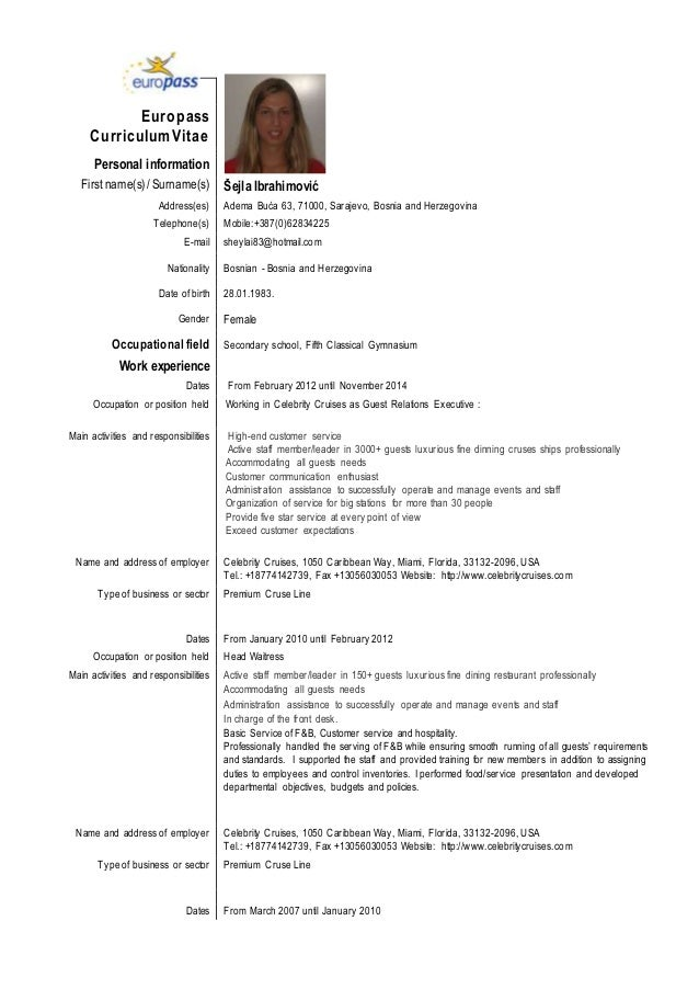 Professional Resume Format Template  VisualbrainsInfo