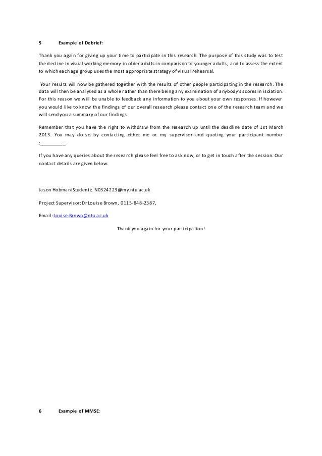 Dissertation Working Paper