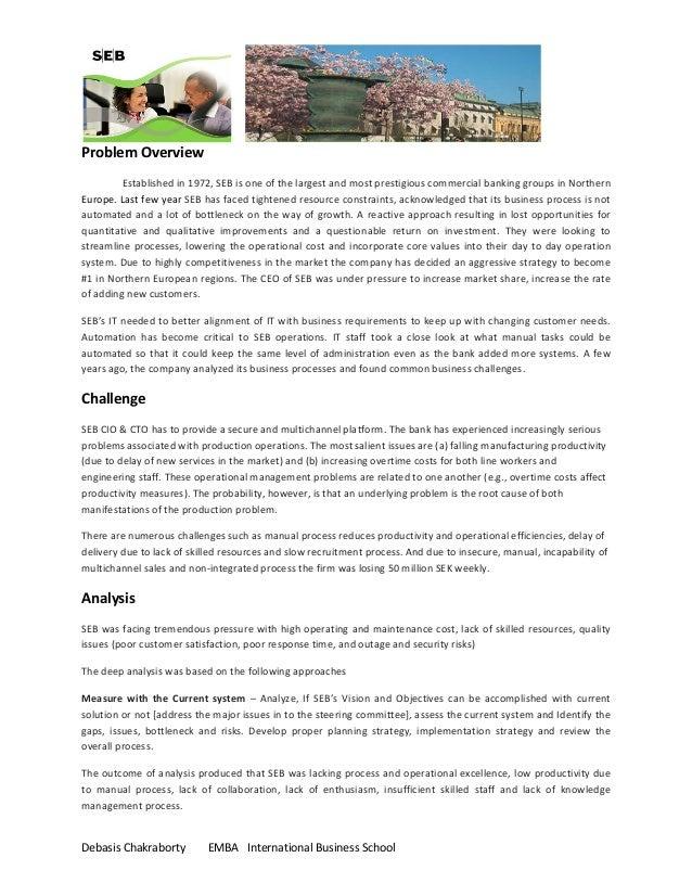 A1 business memo  global ops- seb_debasis chakraborty_403503