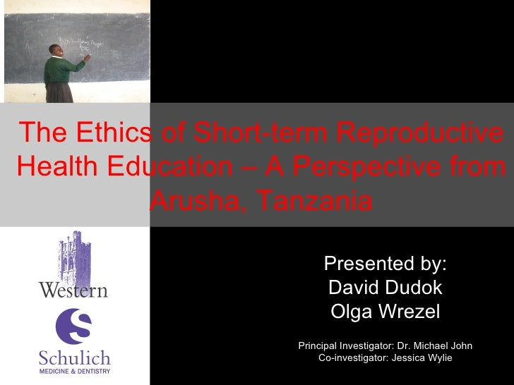 Presented by: David Dudok Olga Wrezel Principal Investigator: Dr. Michael John Co-investigator: Jessica Wylie The Ethics o...