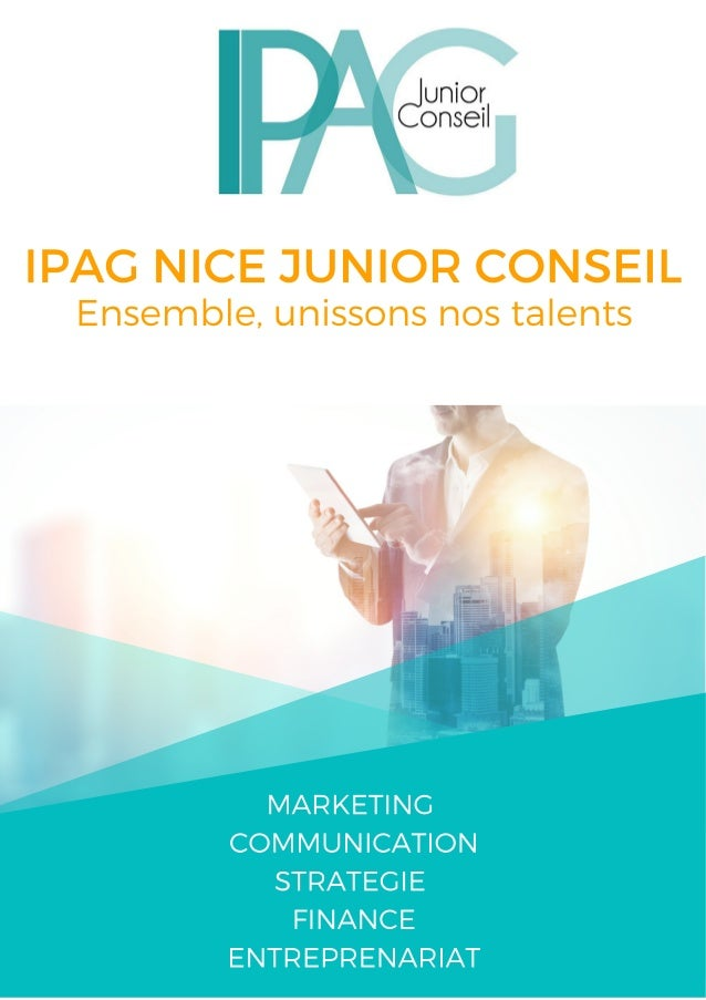 IPAG NICE JUNIOR CONSEIL L'Ipag Nice Junior Conseil est la Junior Conseil du campus de Nice de l'Ipag Business School. Not...