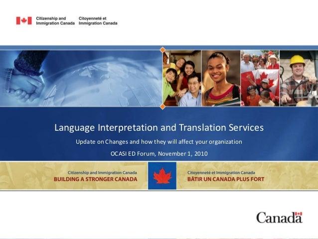 A1 language interpretation and translation services