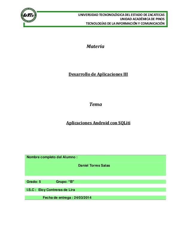 A1 u4gb aplicación móvil con acceso a datos