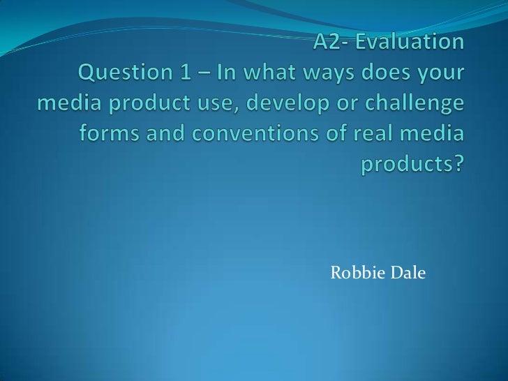 A2  evaluation final