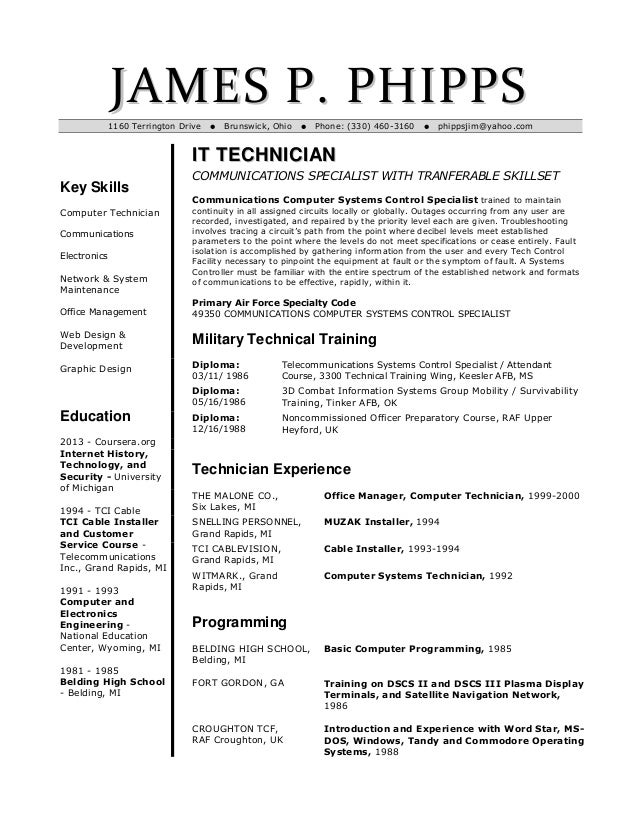 Biomedical Technician Sample Resume Small Business Controller En Resume  Tips On Resume Image Sample Pinterest  Examples Of Business Resumes