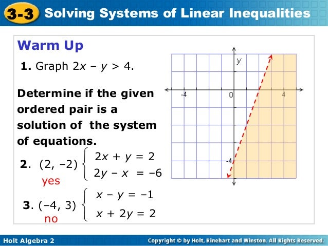 Graphing linear inequalities in two variables worksheet doc