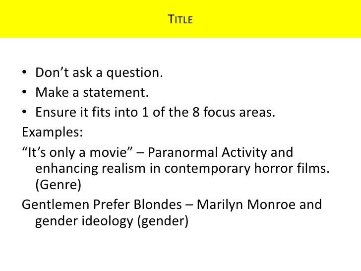 essay on horror genre