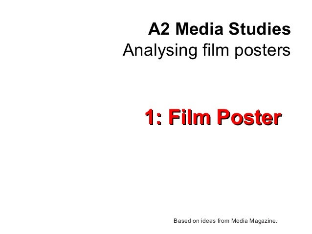 Ideas for film studies coursework?