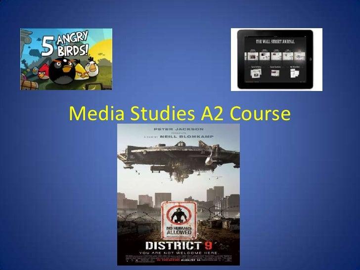 A2 Media course details