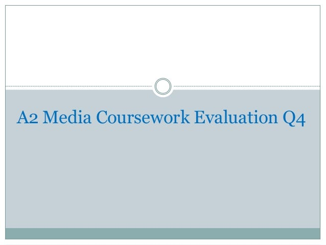 A2 Media Coursework Evaluation Q4