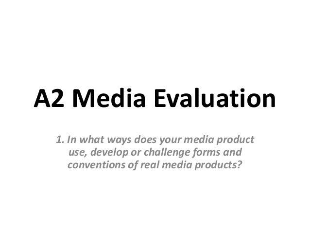 A2 Media Evaluation Question 1