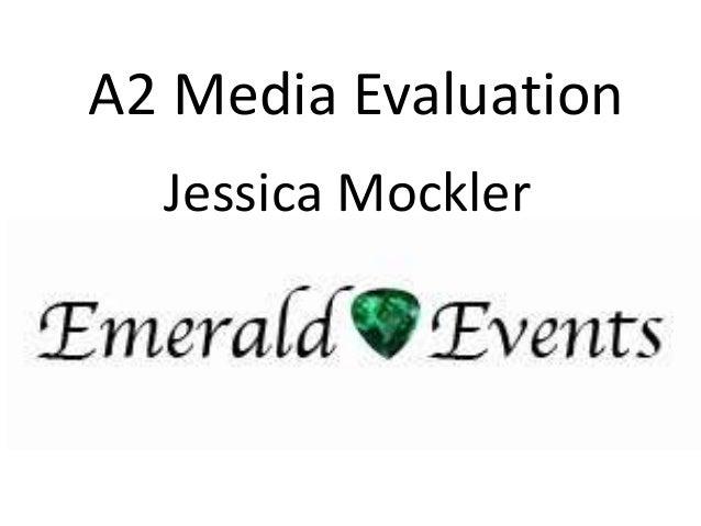 A2 Media Evaluation Jessica Mockler