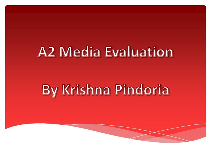 A2 media Evaluation.