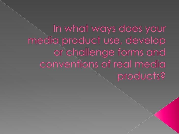 A2 media presentation