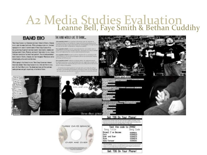 A2 Media Studies Evaluation - Leanne, Bethan and Faye