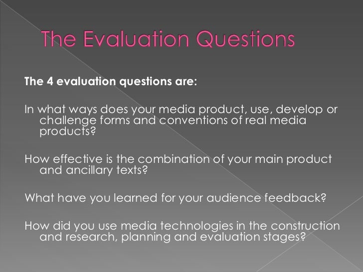 How do you write an A2 exam evaluation?