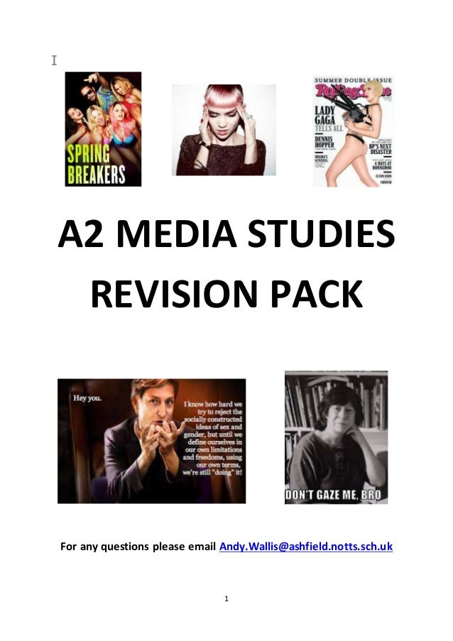 For my Media Studies Coursework i need to know...?