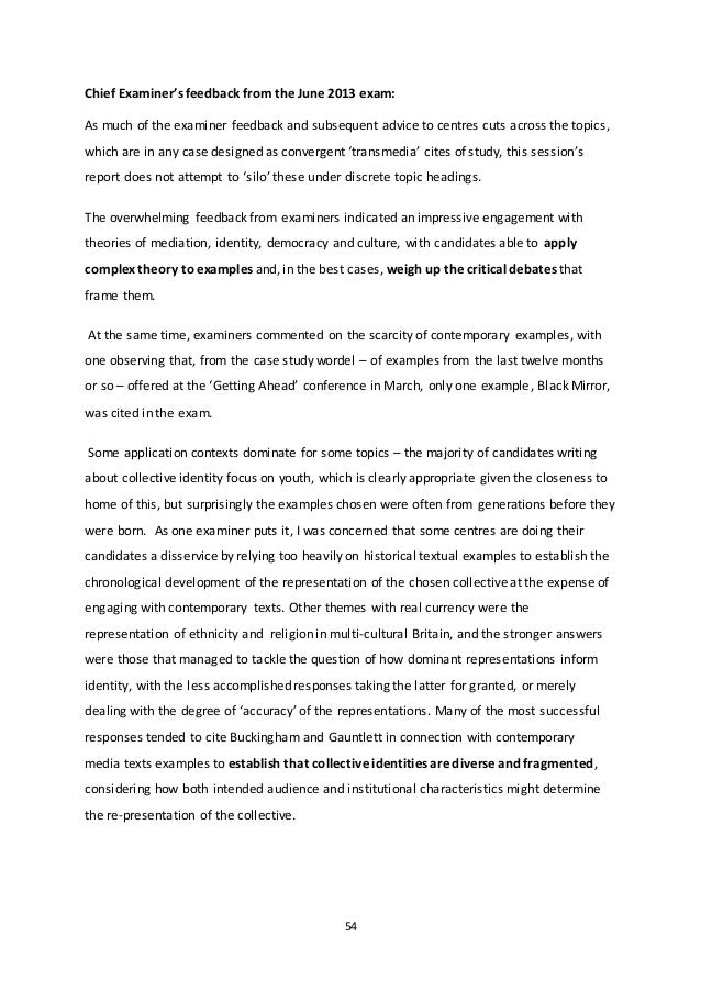 I have media studies as level exam tomorrow, could anyone plz have a look at my essay?