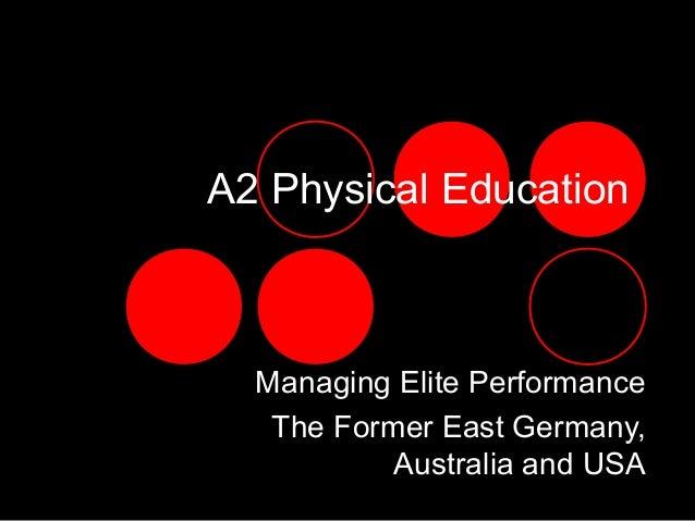 A2 Centres of Excellence