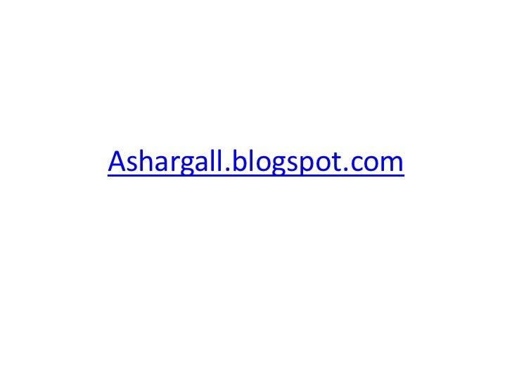 Ashargall.blogspot.com<br />