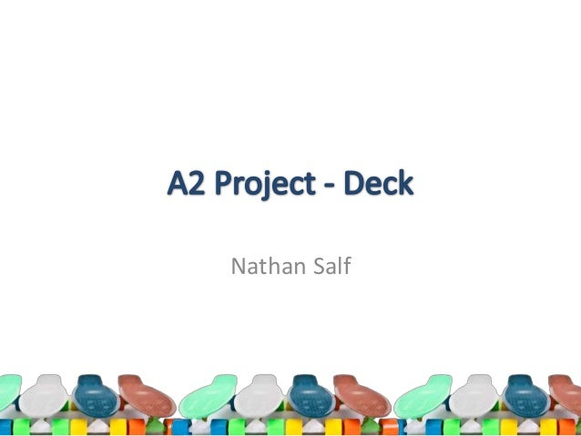 A2 Product Design |  Nathan Salf (Incomplete)