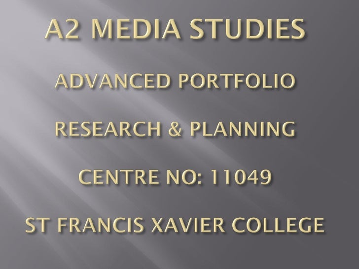 A2 research planning_2011-12