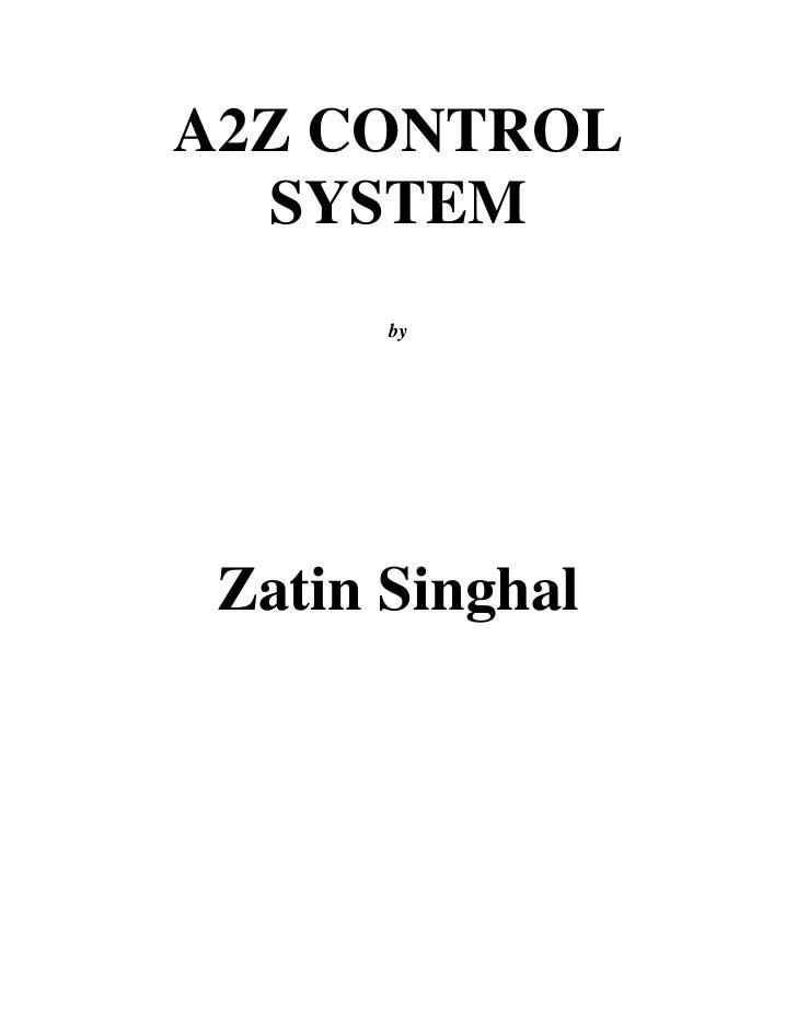 A2Z Control System