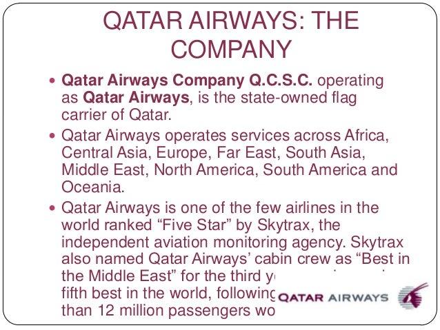 Qatar Airways SWOT Analysis, Competitors & USP