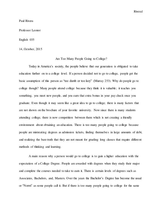 Research Paper Suggestions