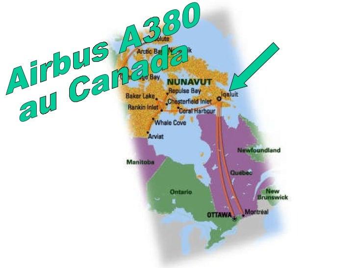 A380 pole nord